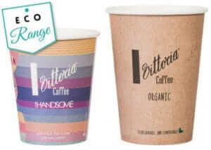 Biodegradable compostable cup
