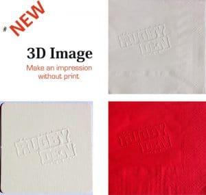 3d napkins